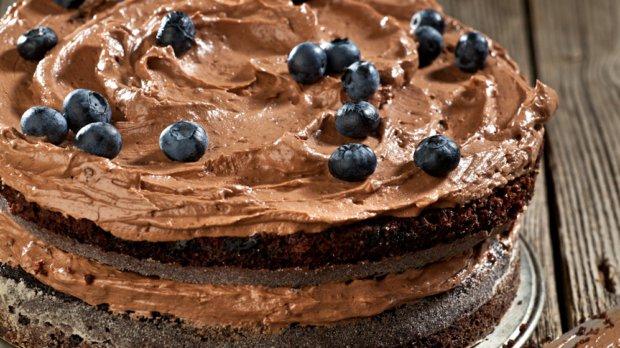 Pivní dort podle Delie Smith