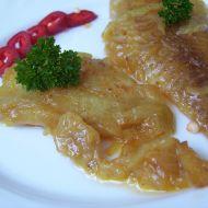Pangas na másle a cibuli recept
