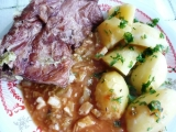 3 V 1 ( uzené, brambory, zelí ) recept