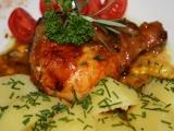 Řecké kuře recept