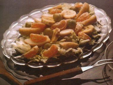 Hruškový salát