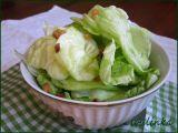Hlávkový salát se škvarečky recept
