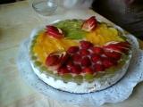 Nepečený ovocný dort II. recept