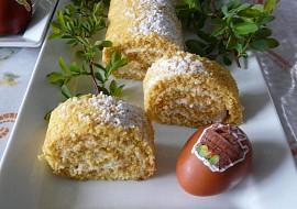 Mrkvová roláda s tvarohovou náplní recept