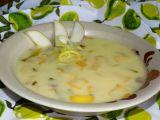 Bramborový krém s pórkem a jablky recept