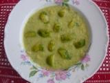 Krémová polévka z růžičkové kapusty recept
