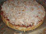Jáhlový koláč s jablky a drobenkou recept