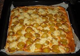 Švestkový koláč na plech recept
