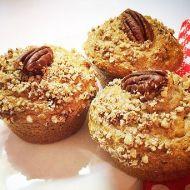 Banánové muffiny s pekanovými ořechy recept