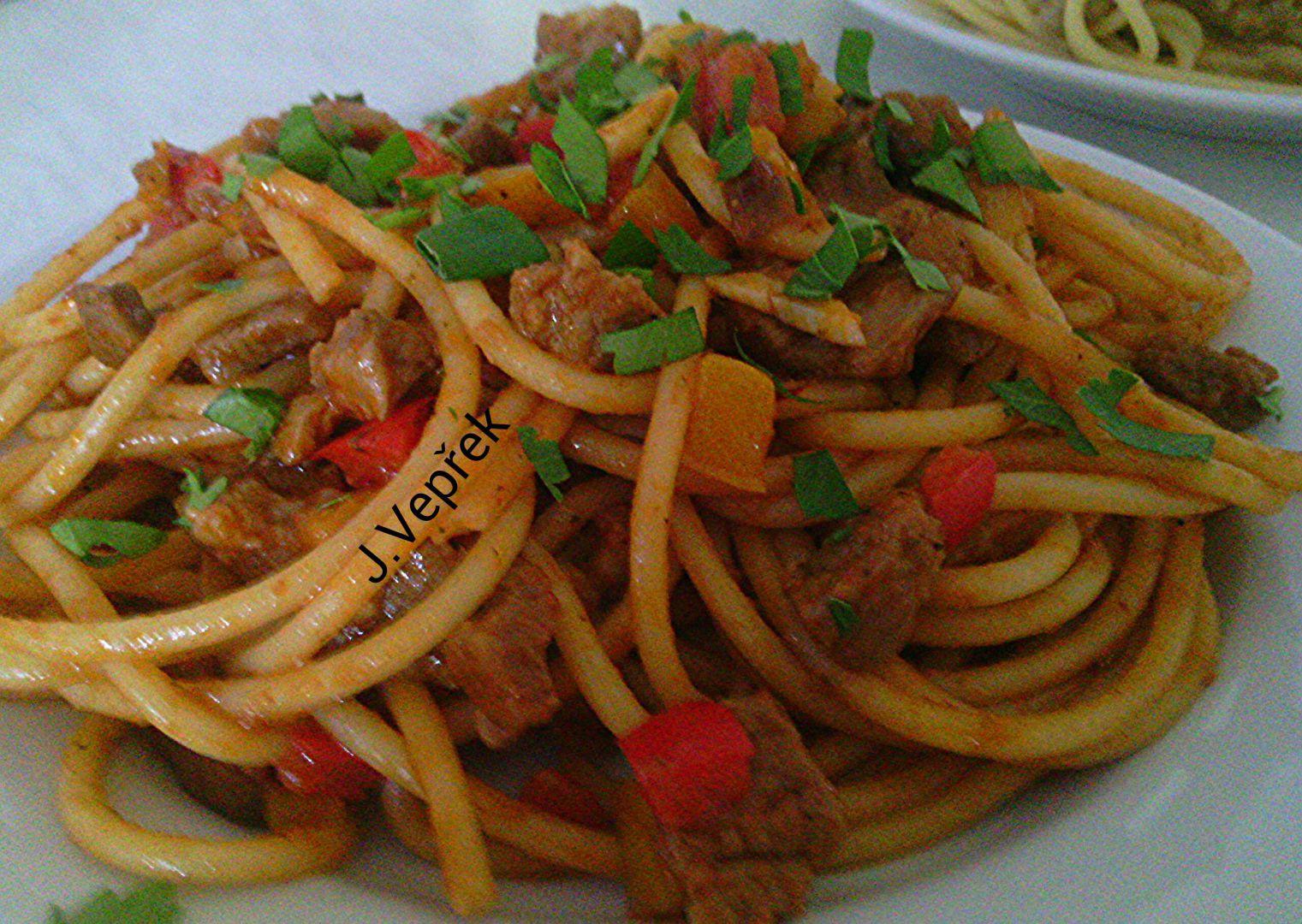 Masové směsi na špagety á la Krkovička recept