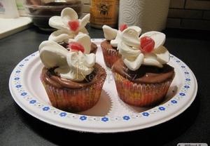 Vanilkový dortík  cupcake