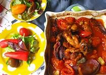 Pikantní pečená kuřecí stehna recept