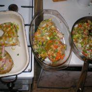 Pečené kuře v troubě s příchutí číny recept