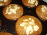 Malinové muffiny s mandlemi recept