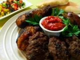 Mix grill s ostrou omackou recept