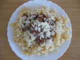 Těstoviny s drůběžími játry recept
