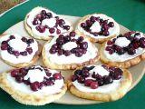 Bramborové placičky s ovocem recept