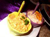Pomazánkové duo  s lososem a s vařenou mrkví recept ...