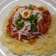 Špagety trochu jinak recept