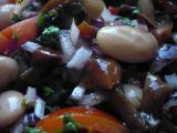 Fazolový salát se sladkokyselou zálivkou recept