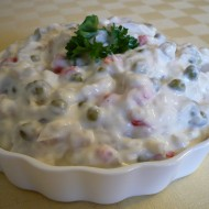 Rybí salát s majonézou recept