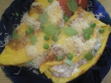 Slané plnené omelety recept