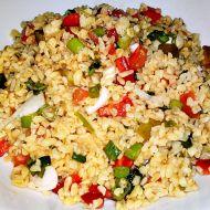 Kisir  turecký salát z bulguru a zeleniny recept
