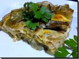 Zapečený mangold se sýrem ( v remosce) recept