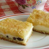 Švédský tvarohový koláč recept