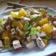 Vegetariánský salát s tofu recept