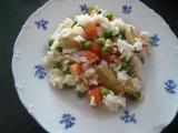 Rýžový salát se žampiony recept
