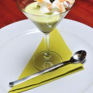 Chřestovo vanilkový dezert s kokosovou šlehačkou recept