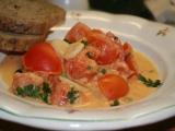 Smetanová rajčata recept