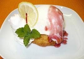 Jablečné rozety se zmrzlinou recept