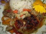Pečené kuře s oreganem a hlívou ústřičnou recept