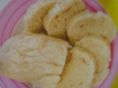 Houskové knedlíky s práškem do pečiva
