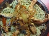 Kuřecí nudličky s petrželkovou rýží recept