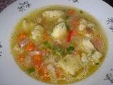 Sýrová polévka se sýrovými nočky recept