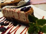Proteinový cheesecake s brusinkami recept