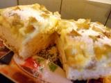 Rebarborovo-pudinkový koláč recept