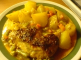 Pečené kuře se zeleninou recept