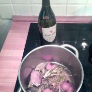 Court-bouillon s bílým vínem recept