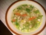 Kuřecí vývar se zeleninou recept