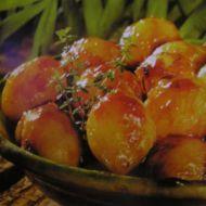 Glazované cibulky recept