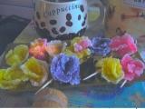 Květinky z cukríkov recept