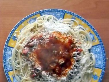 Rychlé jednoduché špagety