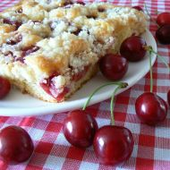 Třešňový koláč recept