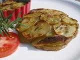 Rozmarýnové pečené bramborové placičky recept
