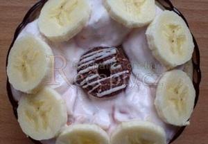 Amasaké s pudinkem a ovocem