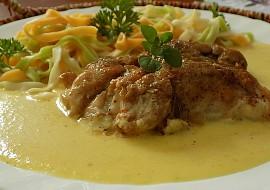 Kuřecí maso v celerové omáčce recept